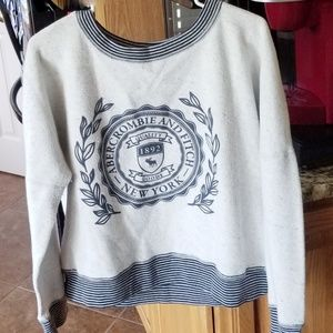 Like New Abercrombie Sweatshirt French Terry